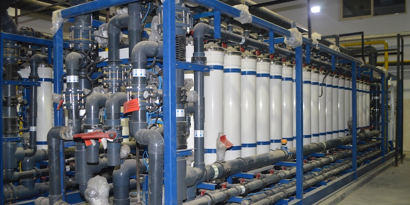 UF Before Reverse Osmosis for Power Plant