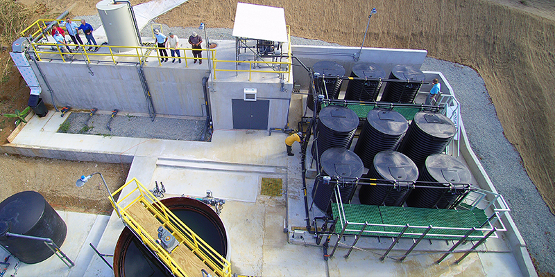 Wastewater Treatment With MABR